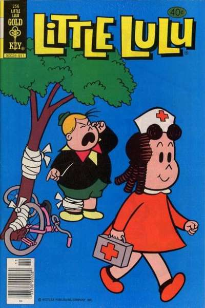Little Lulu #256 Comic Books - Covers, Scans, Photos  in Little Lulu Comic Books - Covers, Scans, Gallery