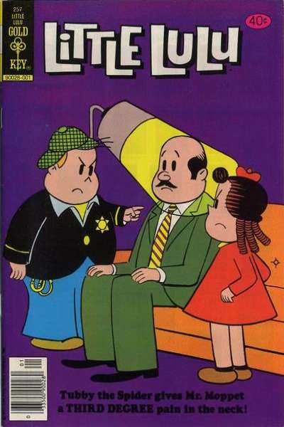Little Lulu #257 Comic Books - Covers, Scans, Photos  in Little Lulu Comic Books - Covers, Scans, Gallery