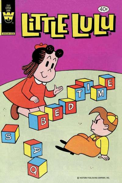 Little Lulu #260 Comic Books - Covers, Scans, Photos  in Little Lulu Comic Books - Covers, Scans, Gallery