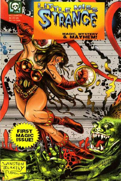 Little Miss Strange #1 comic books for sale