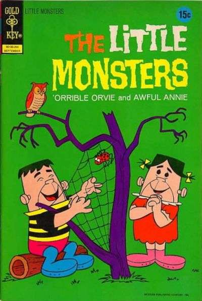 Little Monsters #18 Comic Books - Covers, Scans, Photos  in Little Monsters Comic Books - Covers, Scans, Gallery