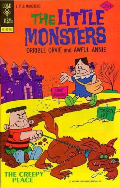 Little Monsters #32 Comic Books - Covers, Scans, Photos  in Little Monsters Comic Books - Covers, Scans, Gallery