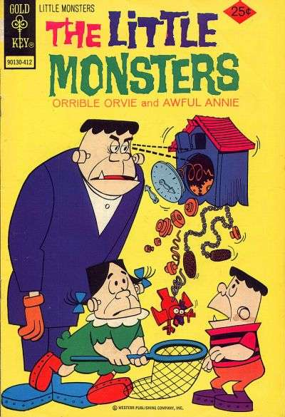 Little Monsters #27 Comic Books - Covers, Scans, Photos  in Little Monsters Comic Books - Covers, Scans, Gallery