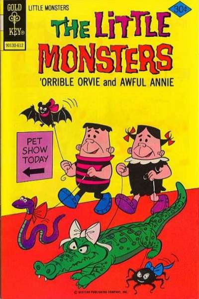 Little Monsters #37 Comic Books - Covers, Scans, Photos  in Little Monsters Comic Books - Covers, Scans, Gallery