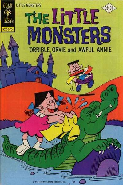 Little Monsters #39 Comic Books - Covers, Scans, Photos  in Little Monsters Comic Books - Covers, Scans, Gallery