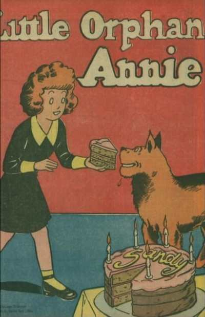 Little Orphan Annie Comic Books. Little Orphan Annie Comics.
