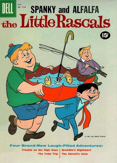 Little Rascals #10 comic books for sale