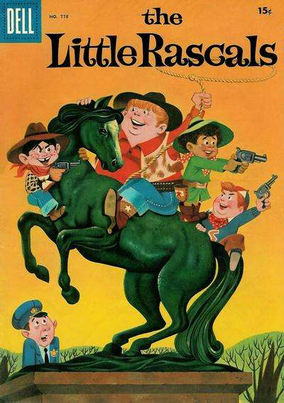 Little Rascals #2 comic books - cover scans photos Little Rascals #2 comic books - covers, picture gallery