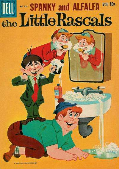 Little Rascals #6 comic books for sale