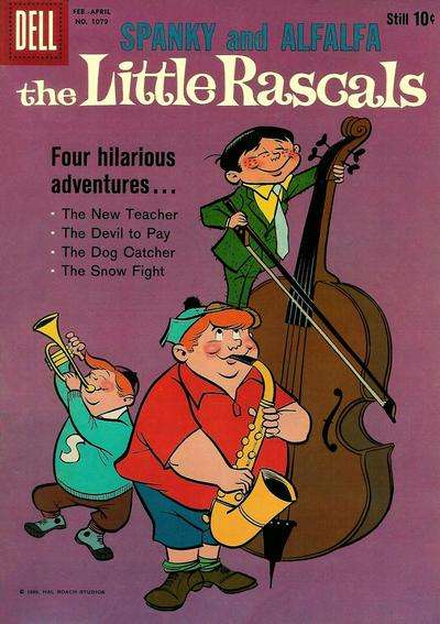 Little Rascals #8 comic books for sale