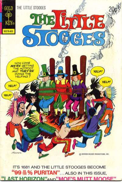 Little Stooges #7 comic books - cover scans photos Little Stooges #7 comic books - covers, picture gallery