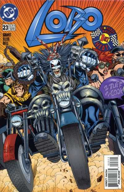 Lobo #23 Comic Books - Covers, Scans, Photos  in Lobo Comic Books - Covers, Scans, Gallery
