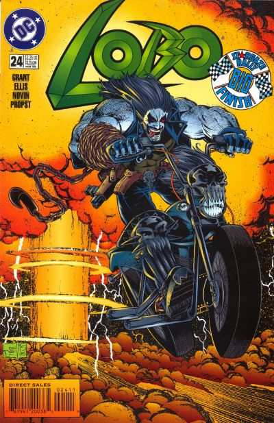 Lobo #24 Comic Books - Covers, Scans, Photos  in Lobo Comic Books - Covers, Scans, Gallery