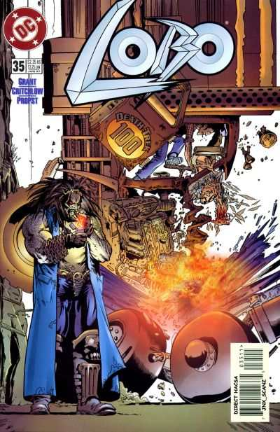 Lobo #35 comic books - cover scans photos Lobo #35 comic books - covers, picture gallery