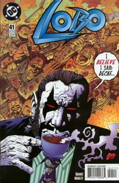 Lobo #41 comic books - cover scans photos Lobo #41 comic books - covers, picture gallery