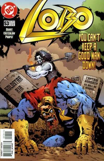 Lobo #53 comic books - cover scans photos Lobo #53 comic books - covers, picture gallery
