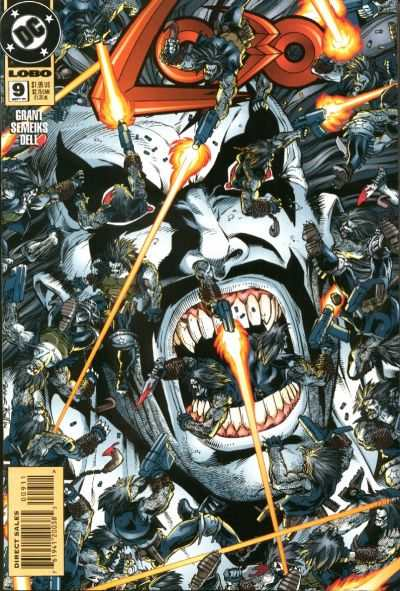 Lobo #9 comic books - cover scans photos Lobo #9 comic books - covers, picture gallery