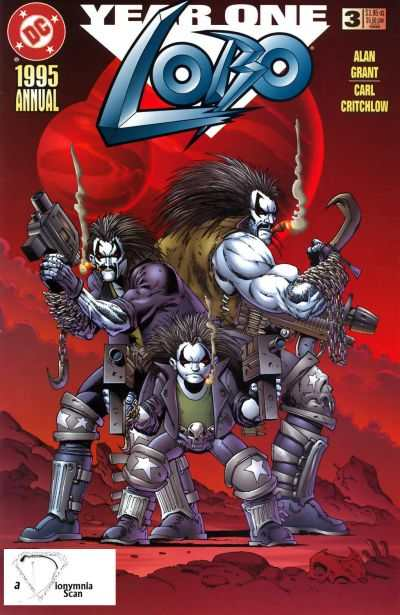 Lobo #3 comic books - cover scans photos Lobo #3 comic books - covers, picture gallery