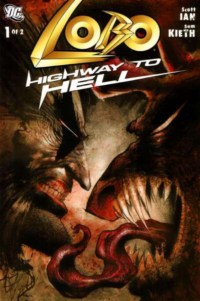 Lobo: Highway to Hell Comic Books. Lobo: Highway to Hell Comics.