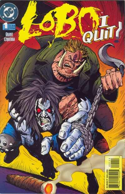 Lobo: I Quit comic books