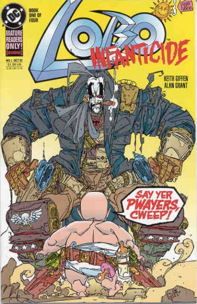 Lobo: Infanticide #1 comic books for sale