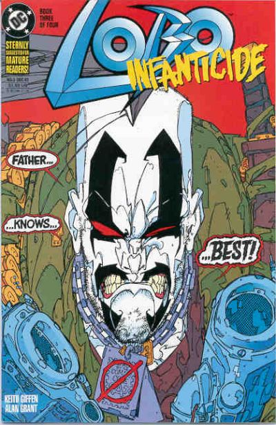 Lobo: Infanticide #3 comic books for sale
