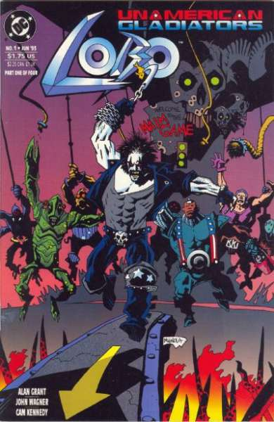 Lobo: Unamerican Gladiators Comic Books. Lobo: Unamerican Gladiators Comics.