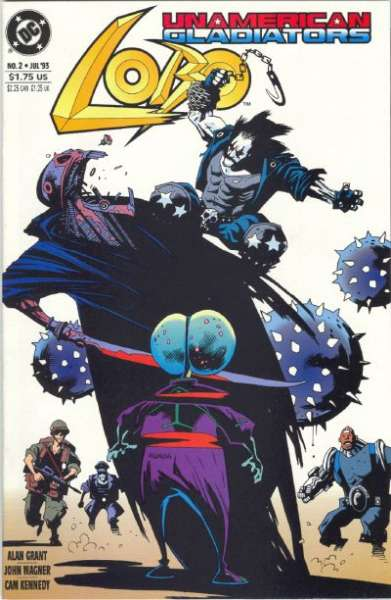 Lobo: Unamerican Gladiators #2 comic books for sale