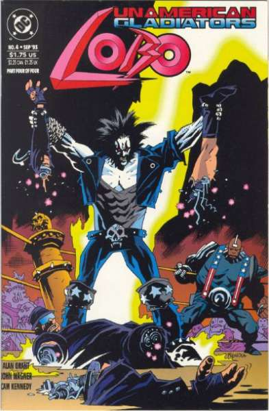 Lobo: Unamerican Gladiators #4 Comic Books - Covers, Scans, Photos  in Lobo: Unamerican Gladiators Comic Books - Covers, Scans, Gallery