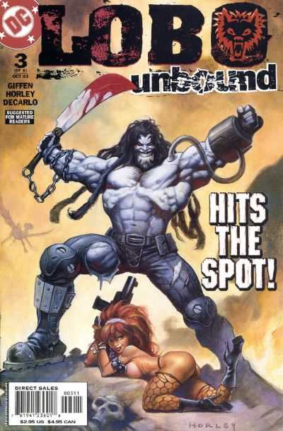 Lobo Unbound #3 Comic Books - Covers, Scans, Photos  in Lobo Unbound Comic Books - Covers, Scans, Gallery