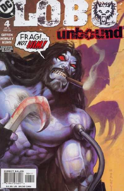 Lobo Unbound #4 Comic Books - Covers, Scans, Photos  in Lobo Unbound Comic Books - Covers, Scans, Gallery