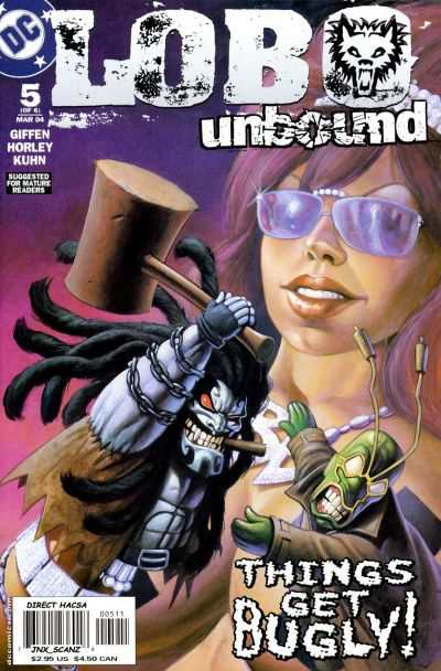 Lobo Unbound #5 comic books - cover scans photos Lobo Unbound #5 comic books - covers, picture gallery
