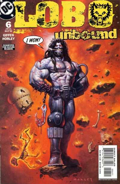 Lobo Unbound #6 comic books - cover scans photos Lobo Unbound #6 comic books - covers, picture gallery