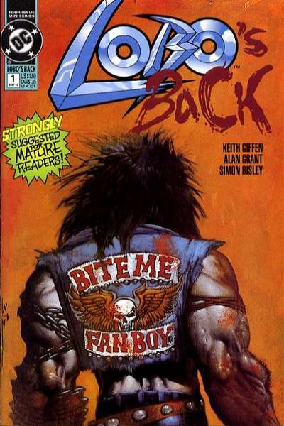 Lobo's Back comic books