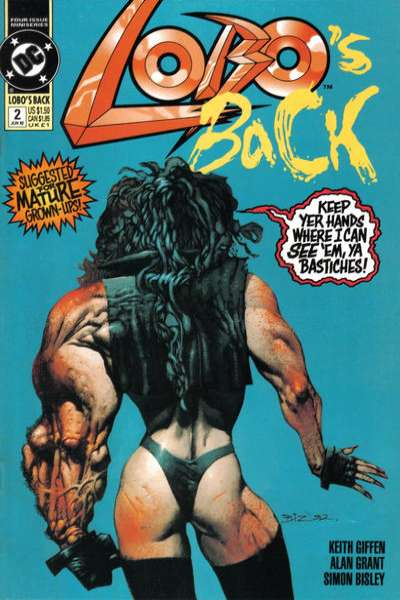 Lobo's Back #2 Comic Books - Covers, Scans, Photos  in Lobo's Back Comic Books - Covers, Scans, Gallery