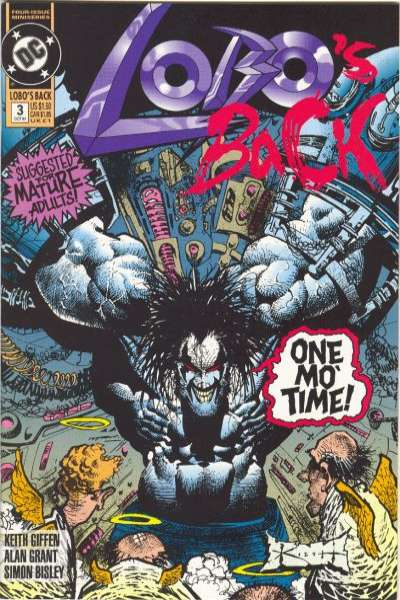 Lobo's Back #3 comic books for sale