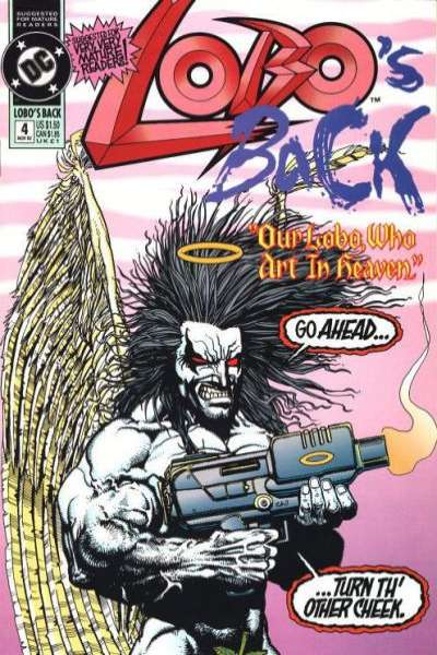 Lobo's Back #4 Comic Books - Covers, Scans, Photos  in Lobo's Back Comic Books - Covers, Scans, Gallery