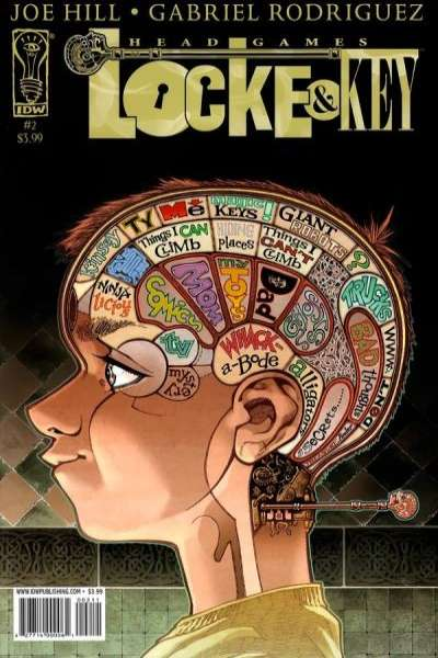 Locke & Key: Head Games #2 Comic Books - Covers, Scans, Photos  in Locke & Key: Head Games Comic Books - Covers, Scans, Gallery