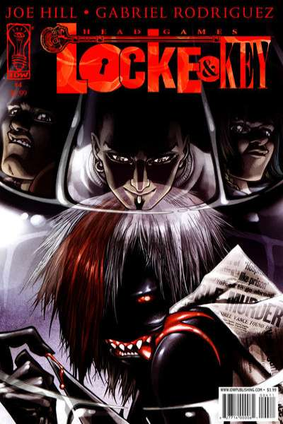Locke & Key: Head Games #4 comic books - cover scans photos Locke & Key: Head Games #4 comic books - covers, picture gallery