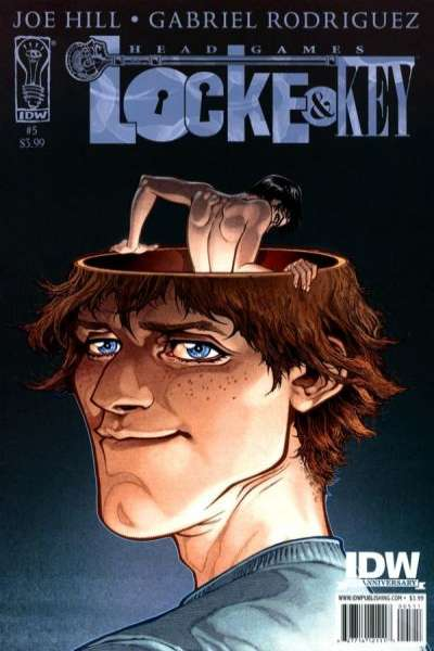 Locke & Key: Head Games #5 Comic Books - Covers, Scans, Photos  in Locke & Key: Head Games Comic Books - Covers, Scans, Gallery
