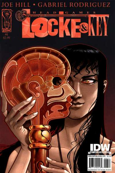 Locke & Key: Head Games #6 comic books - cover scans photos Locke & Key: Head Games #6 comic books - covers, picture gallery