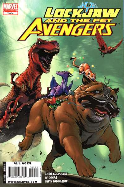 Lockjaw and the Pet Avengers #2 comic books for sale