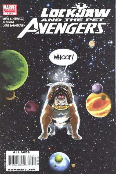 Lockjaw and the Pet Avengers #4 comic books for sale