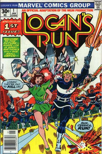 Logan's Run # comic book complete sets Logan's Run # comic books