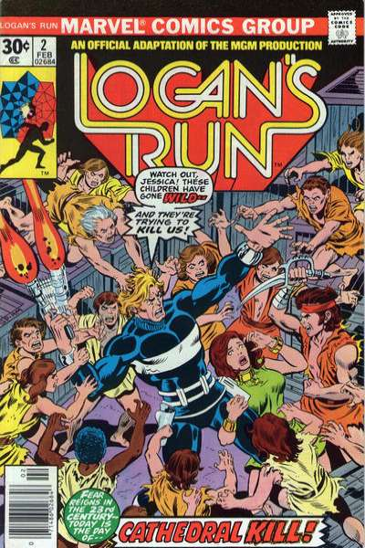 Logan's Run #2 comic books for sale