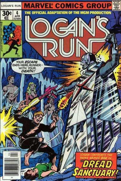 Logan's Run #4 comic books for sale