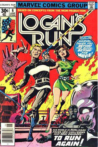 Logan's Run #6 comic books for sale