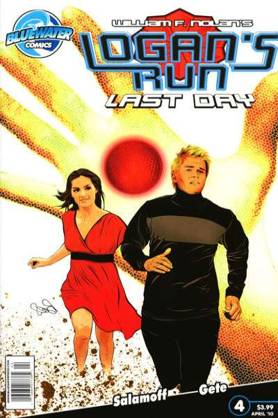 Logan's Run: Last Day #4 comic books - cover scans photos Logan's Run: Last Day #4 comic books - covers, picture gallery