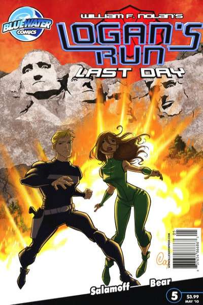 Logan's Run: Last Day #5 comic books - cover scans photos Logan's Run: Last Day #5 comic books - covers, picture gallery