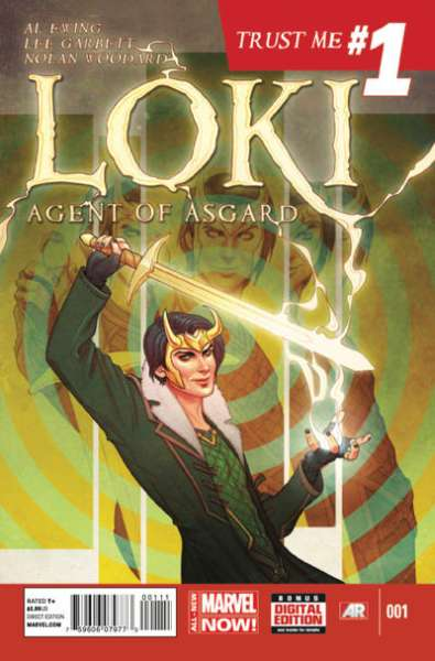 Loki: Agent of Asgard comic books